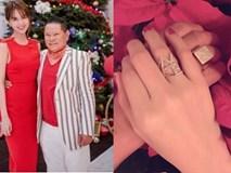 Vừa mới yêu, Ngọc Trinh đã được Hoàng Kiều cầu hôn bằng nhẫn đặc biệt?