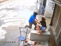 Clip: Tên cướp giật điện thoại từ tay người mẹ khiến em bé ngã đập đầu xuống đất ở Sài Gòn