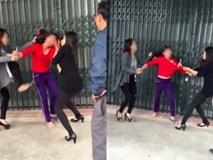 Ghen tuông, 2 cô gái trẻ lao vào hành hung, dọa cắt tóc người phụ nữ trung tuổi