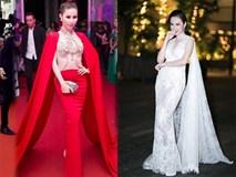 """""""Cuộc chiến"""" váy tay cape của Phương Trinh và loạt mỹ nhân Việt"""