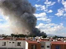 Nổ lớn ở chợ pháo hoa Mexico, 27 người chết
