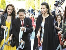 Ngắm dung nhan xinh đẹp người vợ thứ 2 của tỷ phú Hoàng Kiều