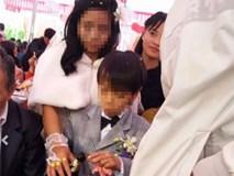 """Sự thật về đám cưới """"cô dâu lớn, chú rể bé"""" gây xôn xao Hà Tĩnh"""
