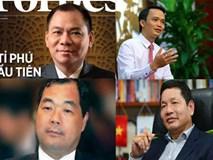 Đại gia tỷ USD xuất hiện: Giới tỷ phú Việt biến động