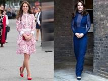 5 tỷ đồng là số tiền công nương Kate đã chi cho cả tủ áo quần của năm 2016