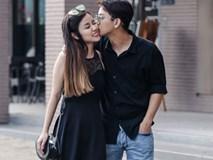Hoài Lâm nhìn 'đắm đuối', ngọt ngào hôn bạn gái