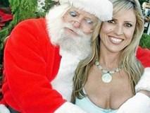 """Giật mình với hình ảnh """"hiếm thấy"""" của ông già Noel"""