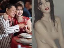 Ngọc Trinh lộ ảnh nude hoàn toàn sau khi sang Mỹ thăm người tình 72 tuổi trở về