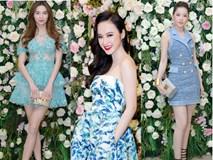 """Màn """"đọ"""" hàng hiệu giữa Hà Hồ, Chi Pu, Angela Phương Trinh... trong những chiếc đầm cả trăm triệu!"""