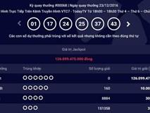 Ai sẽ là chủ nhân của chiếc vé Jackpot Mega 6/45 lên kỷ lục 126 tỷ đồng?