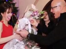 Tiết lộ thân thế quá khủng của những người tặng hoa cho Ngọc Trinh tại tiệc của tỷ phú 72 tuổi
