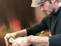 David Beckham trổ tài nấu nướng trước thềm Giáng Sinh