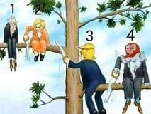 Câu đố tìm người kém thông minh nhất trong tranh