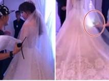 Hari Won được chăm sóc tận răng trong hậu trường đám cưới