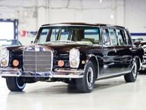 Chiêm ngưỡng hàng hiếm Mercedes-Benz 600 Pullman 1968