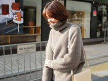 4 tips mặc áo len cổ lọ thật phong cách trong ngày trở lạnh