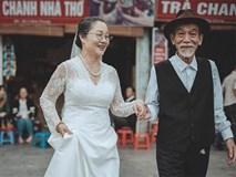 Ảnh cưới 50 năm gây chú ý của nghệ sĩ già Mai Ngọc Căn
