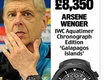 Khám phá đồng hồ đeo tay của HLV Ngoại hạng Anh