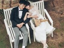 Bộ ảnh cưới giản dị của MC điển trai Trần Ngọc và vợ 9x
