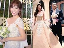 Những bộ váy cưới lộng lẫy nhất của sao Việt năm 2016