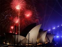 Nhà hát Con Sò lộng lẫy trong đêm giao thừa ở Sydney