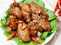 Cánh gà chiên chua cay ngon mê say cho Tết Dương lịch