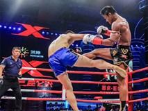 """""""Thánh Muay Thái"""" đánh võ sĩ Trung Quốc """"lăn như bi"""" ngay trên đất khách"""