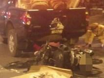 Clip: Tông mạnh vào xe ô tô chạy cùng chiều, người đàn ông tử vong tại chỗ