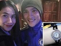 Kỉ niệm 9 năm yêu nhau, Thủy Tiên được Công Vinh tặng đồng hồ đính kim cương