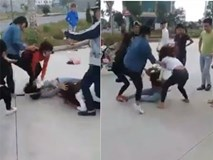 Ghen tuông, cô gái trẻ bị nhóm người đánh đập dã man ngay ngoài đường