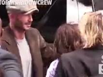 Gia đình Beckham sành điệu ra phố