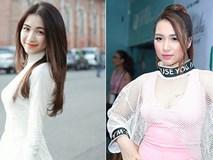 Hòa Minzy xuất hiện với gương mặt sưng phồng khác lạ hậu chia tay Công Phượng