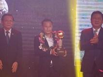 Quả bóng vàng Việt Nam: Thành Lương lên ngôi, Xuân Trường giành bạc