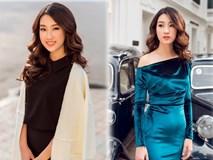 Hoa hậu Mỹ Linh xuống phố với cảm hứng từ những 'khoảnh khắc giao mùa'