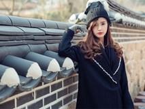 Bộ ảnh đẹp nhẹ nhàng của Midu ở phim trường Hàn Quốc