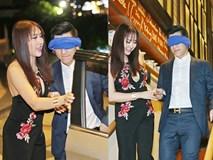 Phi Thanh Vân bịt mắt chồng, tự lái xe chở ông xã đến nơi đặc biệt
