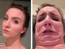 Ranh giới giữa ngự tỷ và quái vật khi selfie là vô cùng mỏng manh