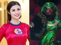 Phản ứng của Ngọc Hân và 2 NTK hàng đầu trước hình ảnh mẫu châu Phi mặc áo dài Việt