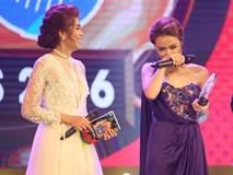 Hoàng Thùy Linh bật khóc khi đoạt giải thưởng âm nhạc đầu tiên trong sự nghiệp