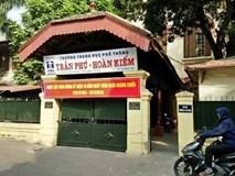 Hiệu trưởng trường Trần Phú thừa nhận có chuyện sửa, nâng điểm cho học trò