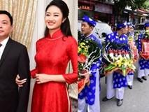 Ai cũng choáng khi nhìn thấy lễ vật bên trong 21 tráp ăn hỏi của Hoa hậu Thu Ngân