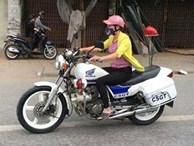Cô gái lái xe đặc chủng của CSGT Hải Phòng là nhân viên bảo dưỡng xe