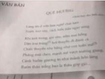 Học bài thơ 'Quê hương' qua nhạc rap
