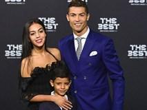 Bạn gái Ronaldo đánh bật nhan sắc sao Hollywood tại Gala FIFA