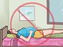 Vì sao mẹ bầu không nên nằm ngửa khi ngủ? Và đây là câu trả lời!