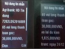 """Sinh viên bỗng dưng bị ngân hàng """"đòi nợ"""" 30 triệu đồng"""