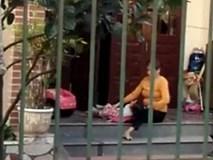 Công an nói về clip người phụ nữ vật ngửa trẻ để đút ăn
