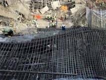 Sập tại công trình xây trung tâm thương mại ở Sài Gòn, nhiều người bị thương