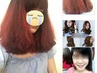 Tốn gần 2 triệu làm tóc xoăn 'ăn Tết', cô gái đau đớn nhận được quả đầu xù như... râu ngô
