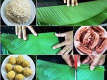 Hướng dẫn chi tiết cách gói bánh tét cực ngon đón Tết